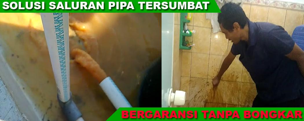 Jasa Saluran Mampet Toilet / Kloset